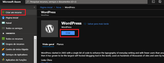 wordpress-azure